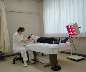 施術の写真